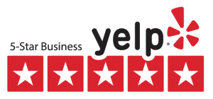 Image result for Yelp 5 star review badge